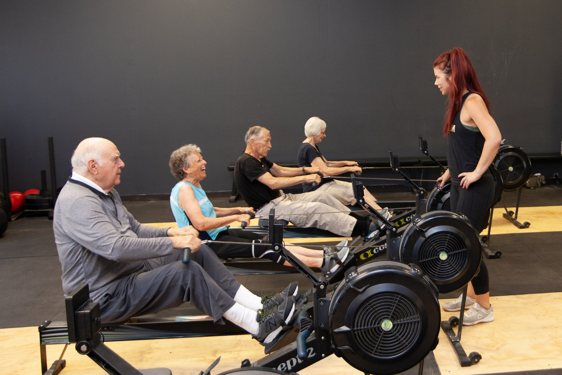 Longevity Class for Seniors at Training Zone Gym in Grass Valley